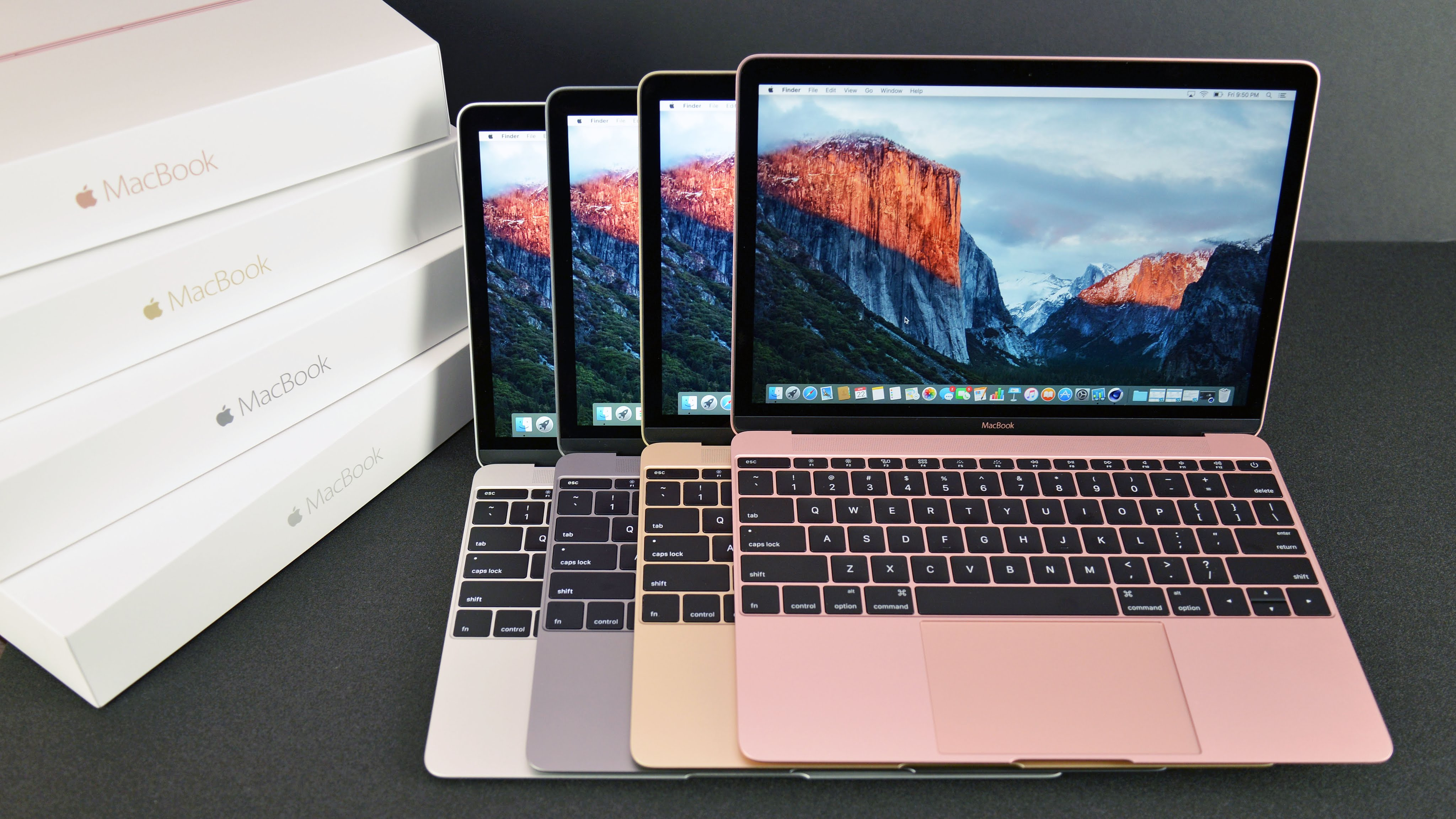 So sánh MacBook Pro 2017 và MacBook 2016