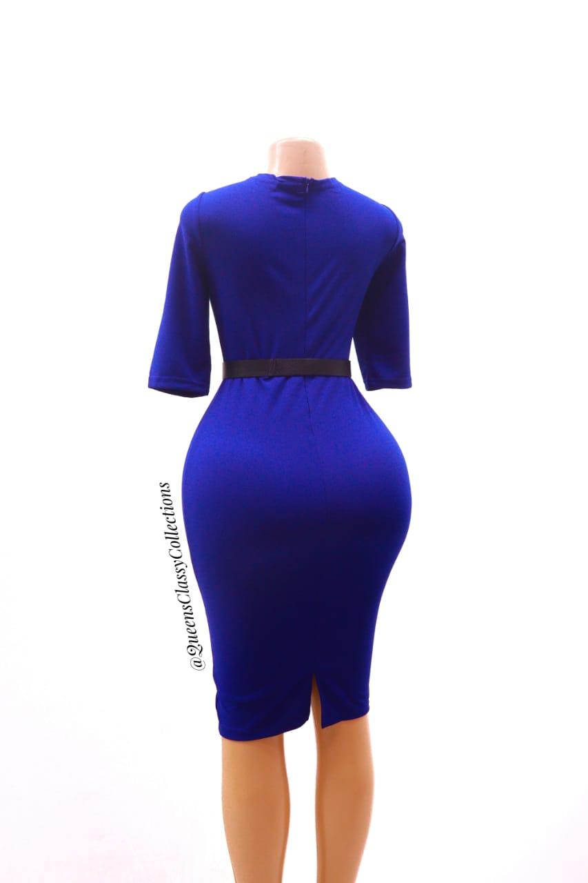 Plain Official Dress
