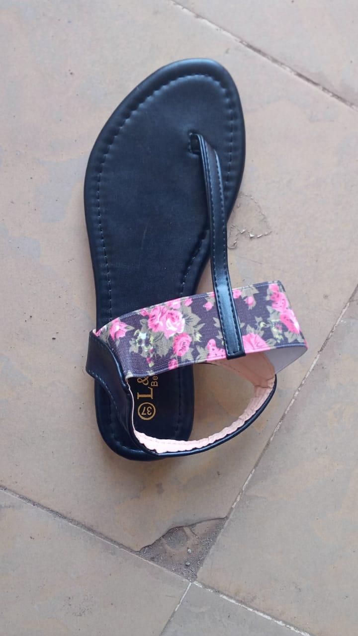 Floral Bohemian Sandals