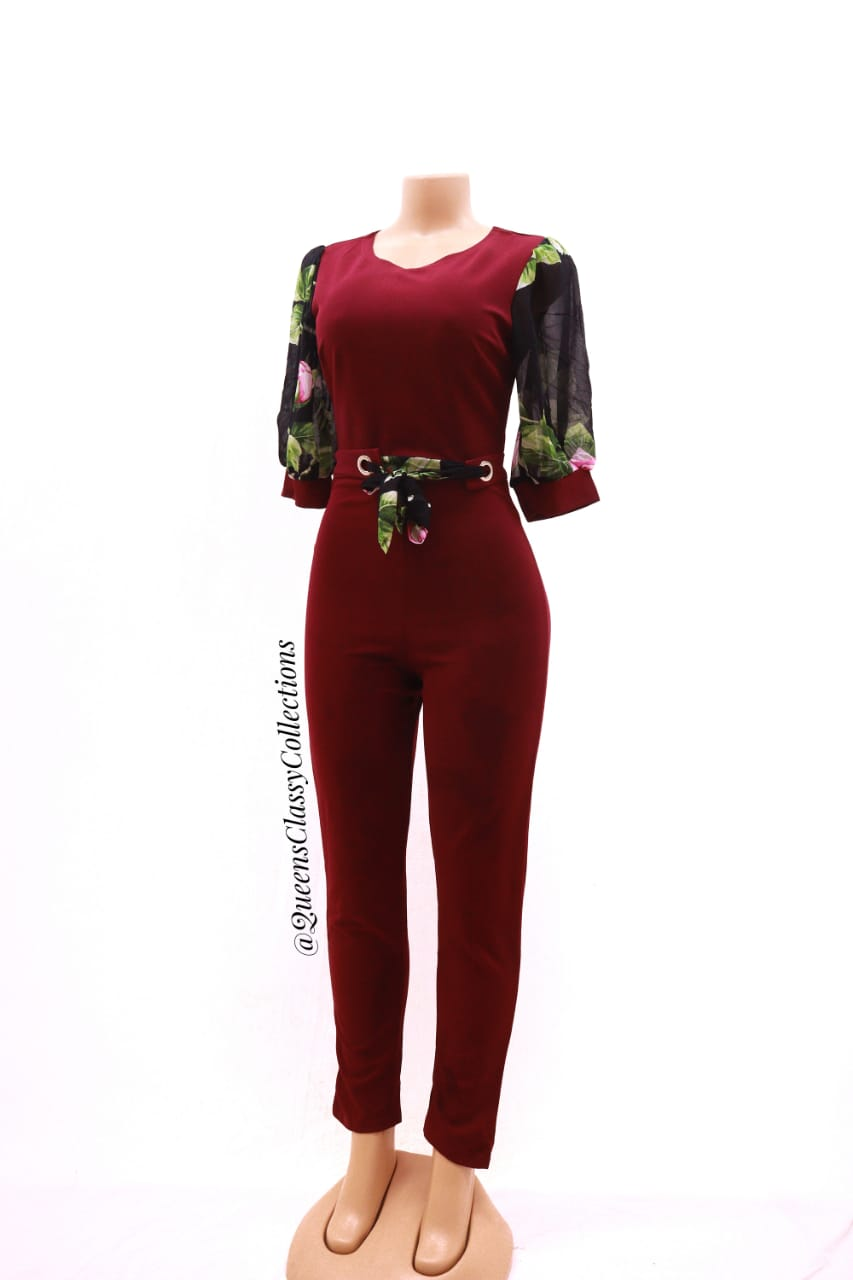 Rose Arms Jumpsuits