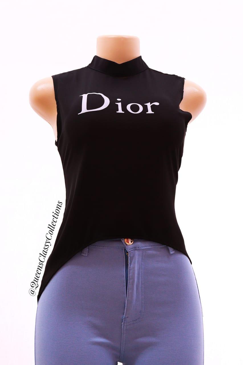 Dior Chiffon Top