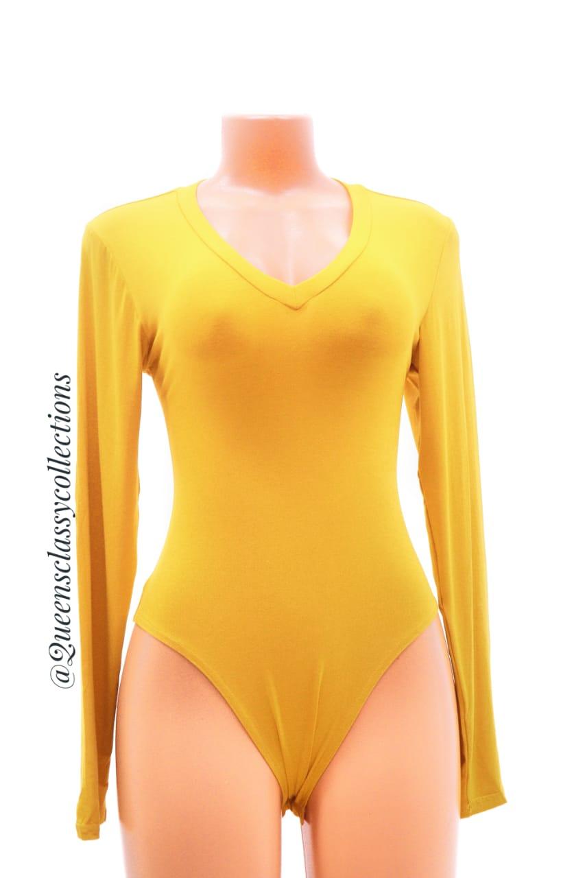 Long_sleeved forever 21 bodysuit