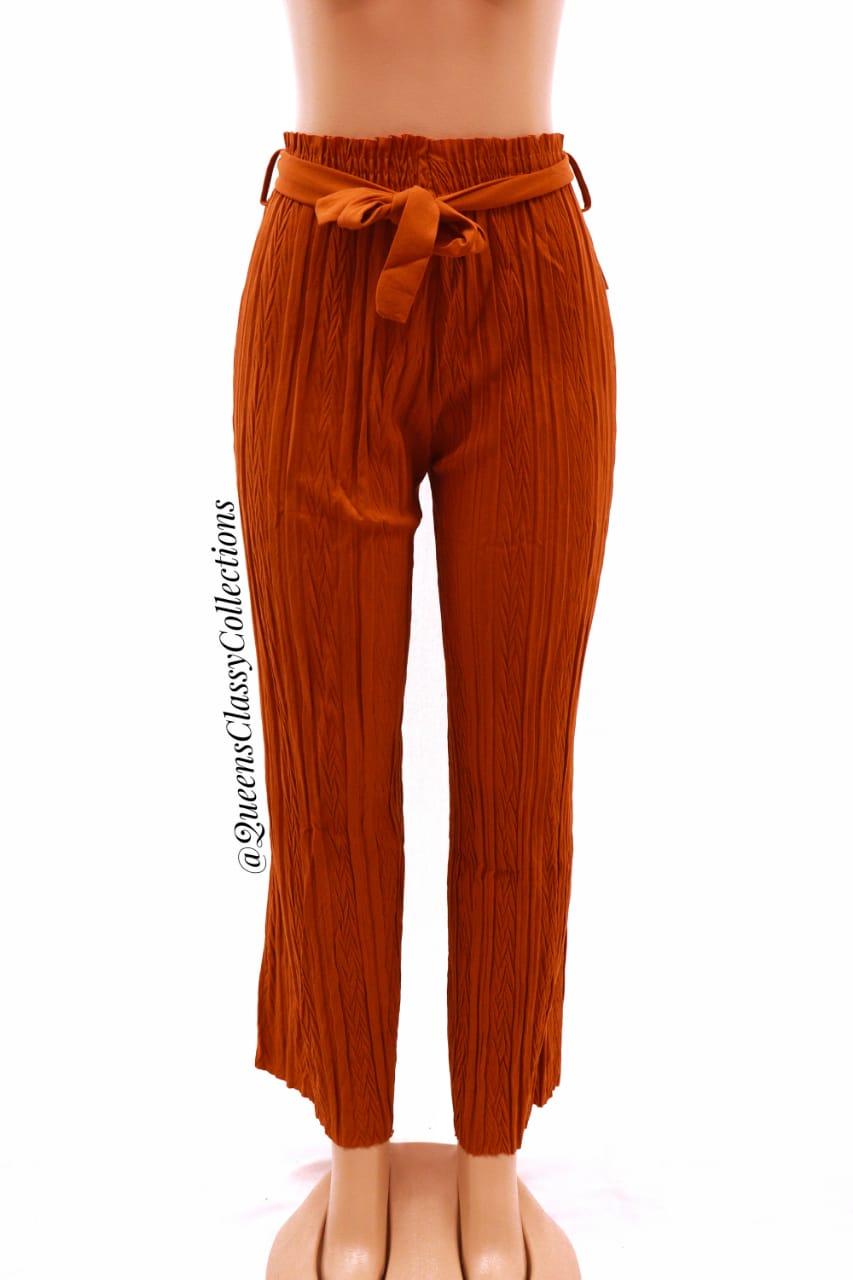 New Pleated Pants