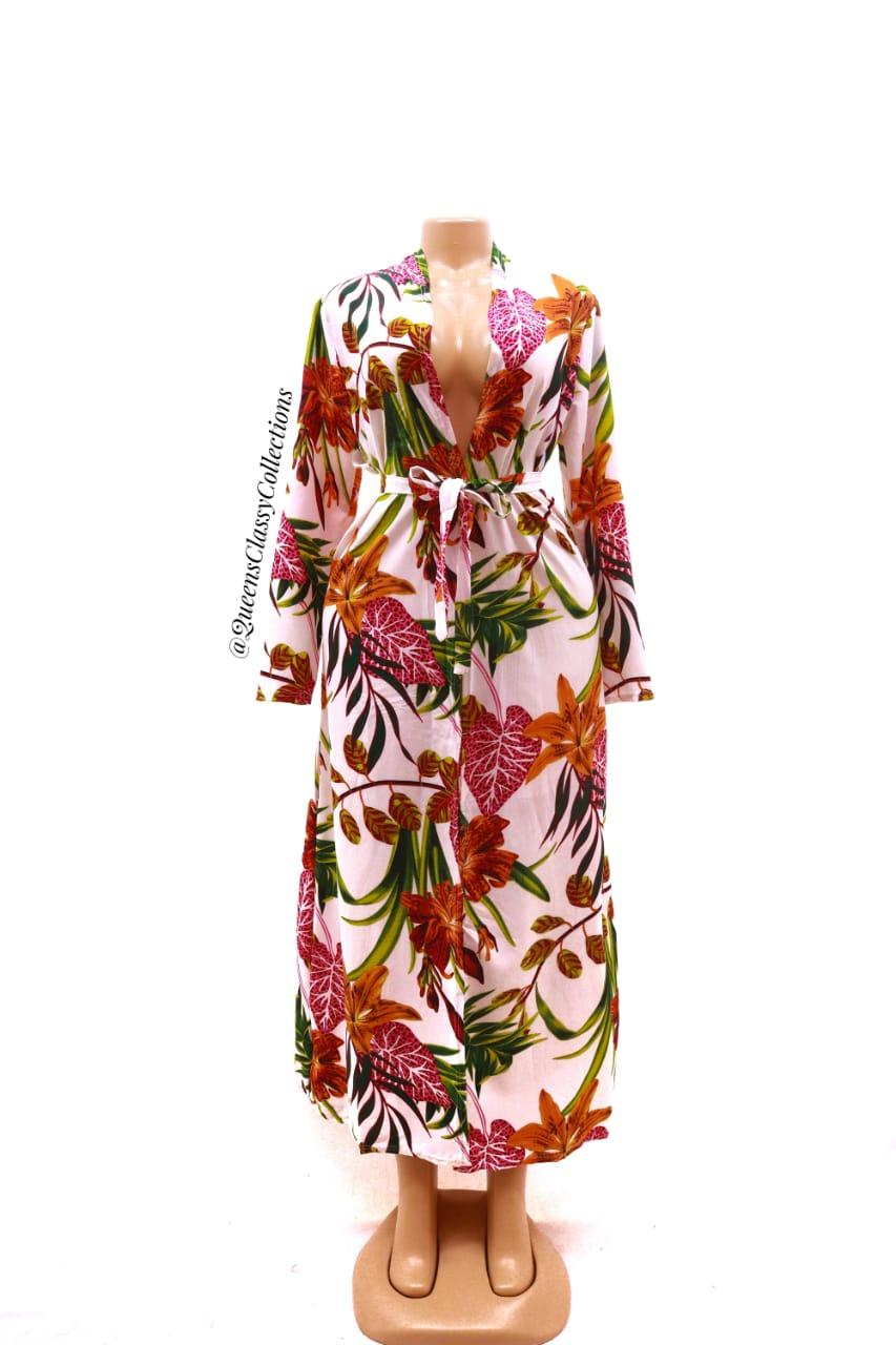 New Floral Kimono