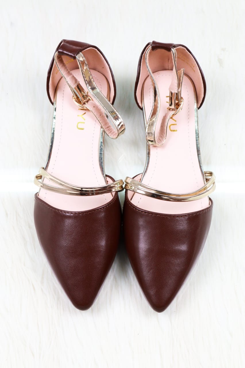 Gold Ring dolly shoe