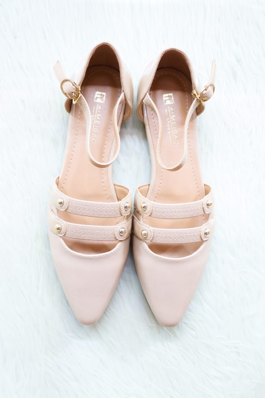 Double Strap dolly shoe