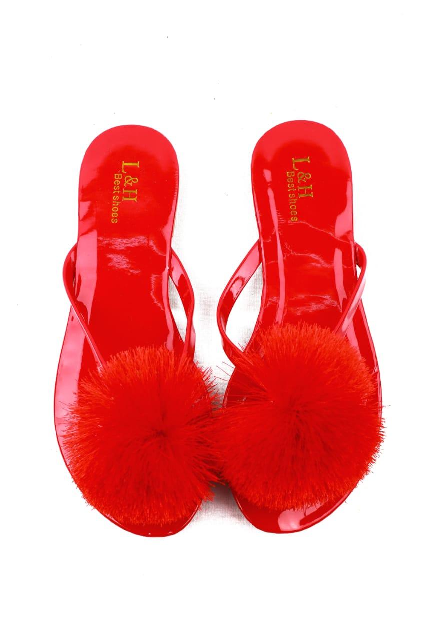 Open flip flops sandal