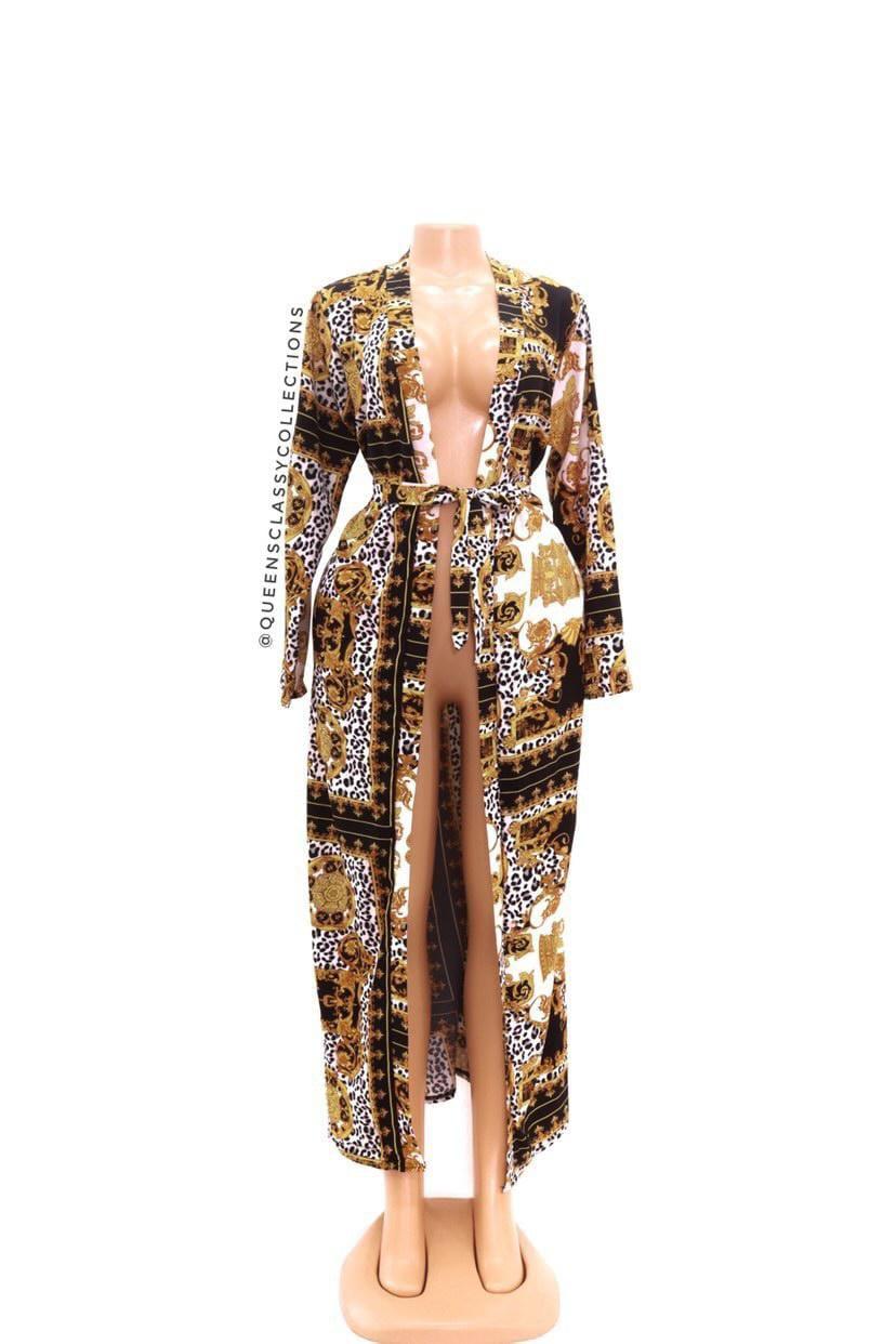 Versace kimono