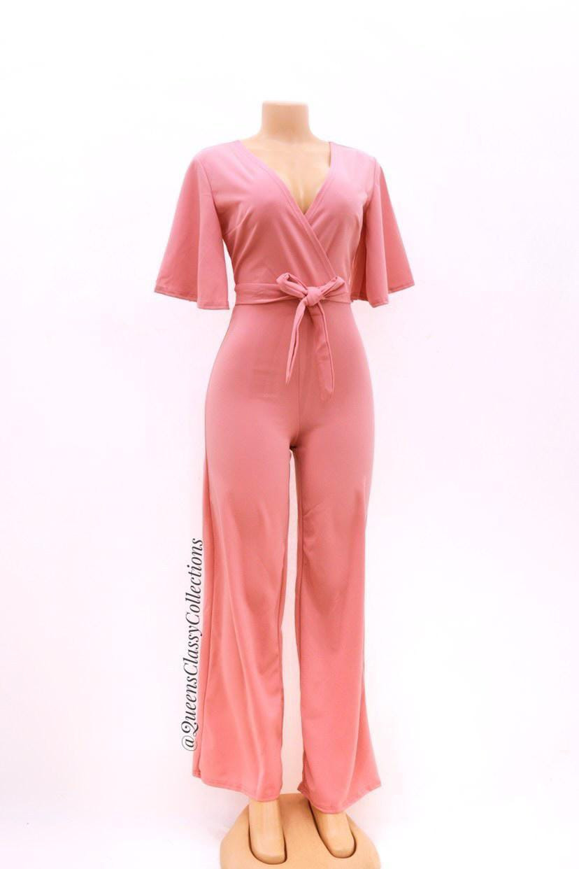 Official cleavage jumpsuit