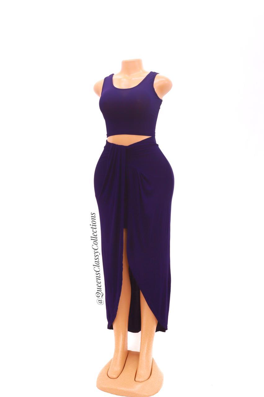 Flirty skirt set