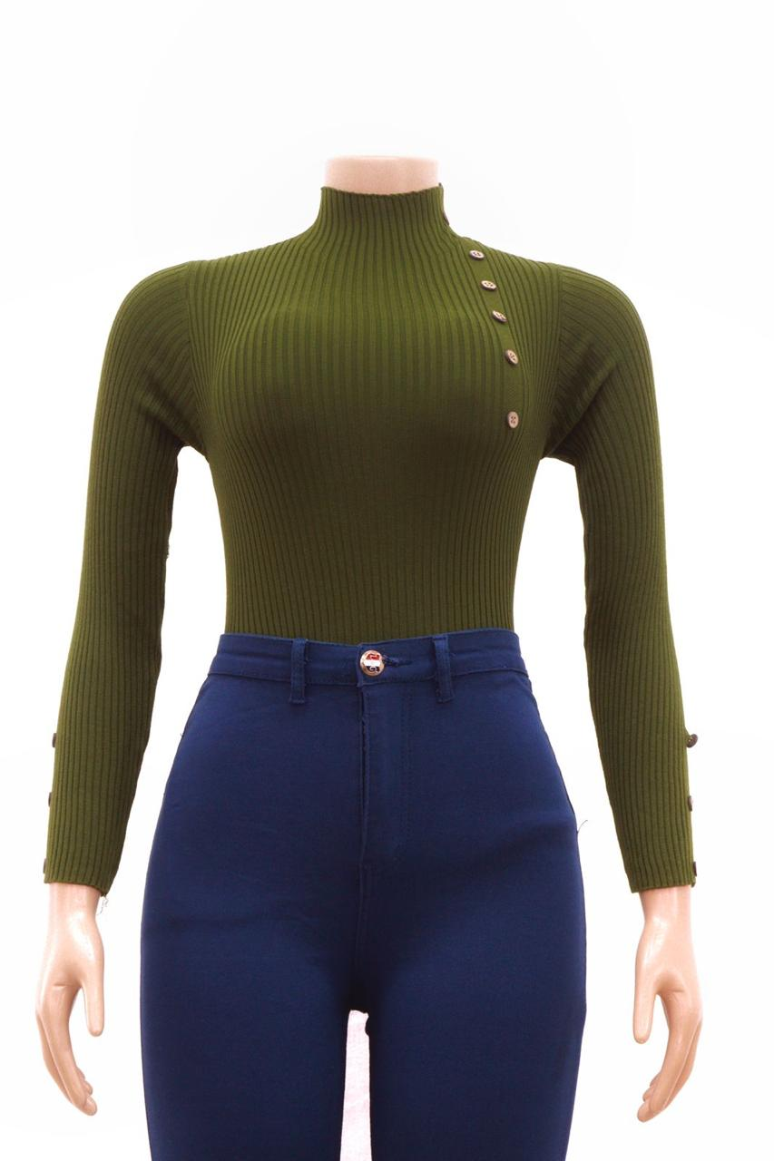 Sweater button top