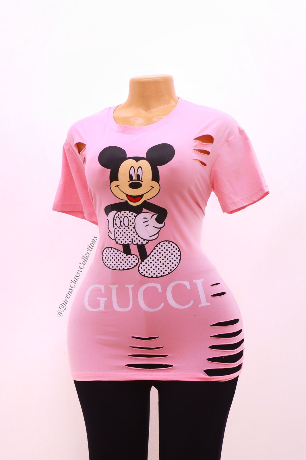 Gucci ripped top
