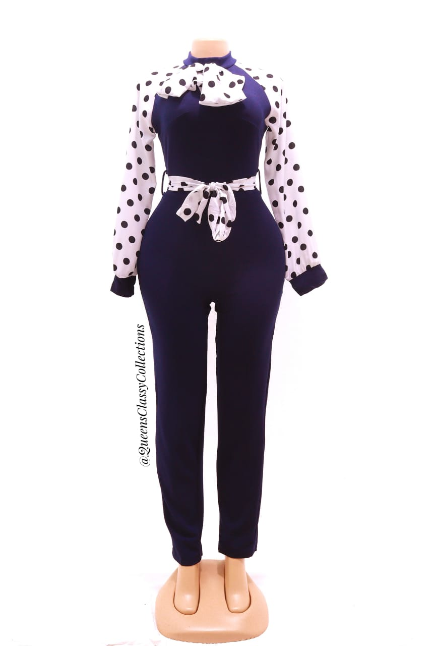 Polka Arm Official Jumpsuit