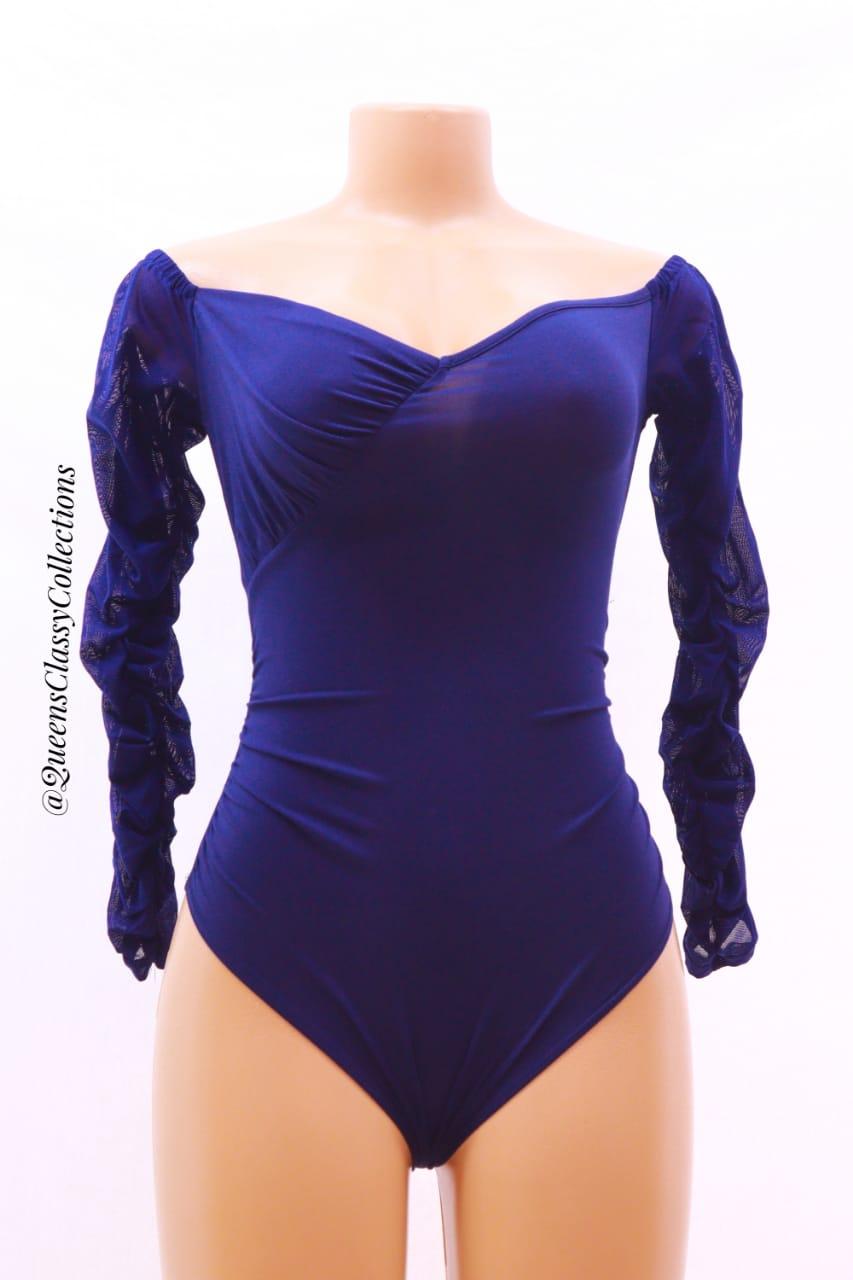 Offshoulder Arm Lace Bodysuit