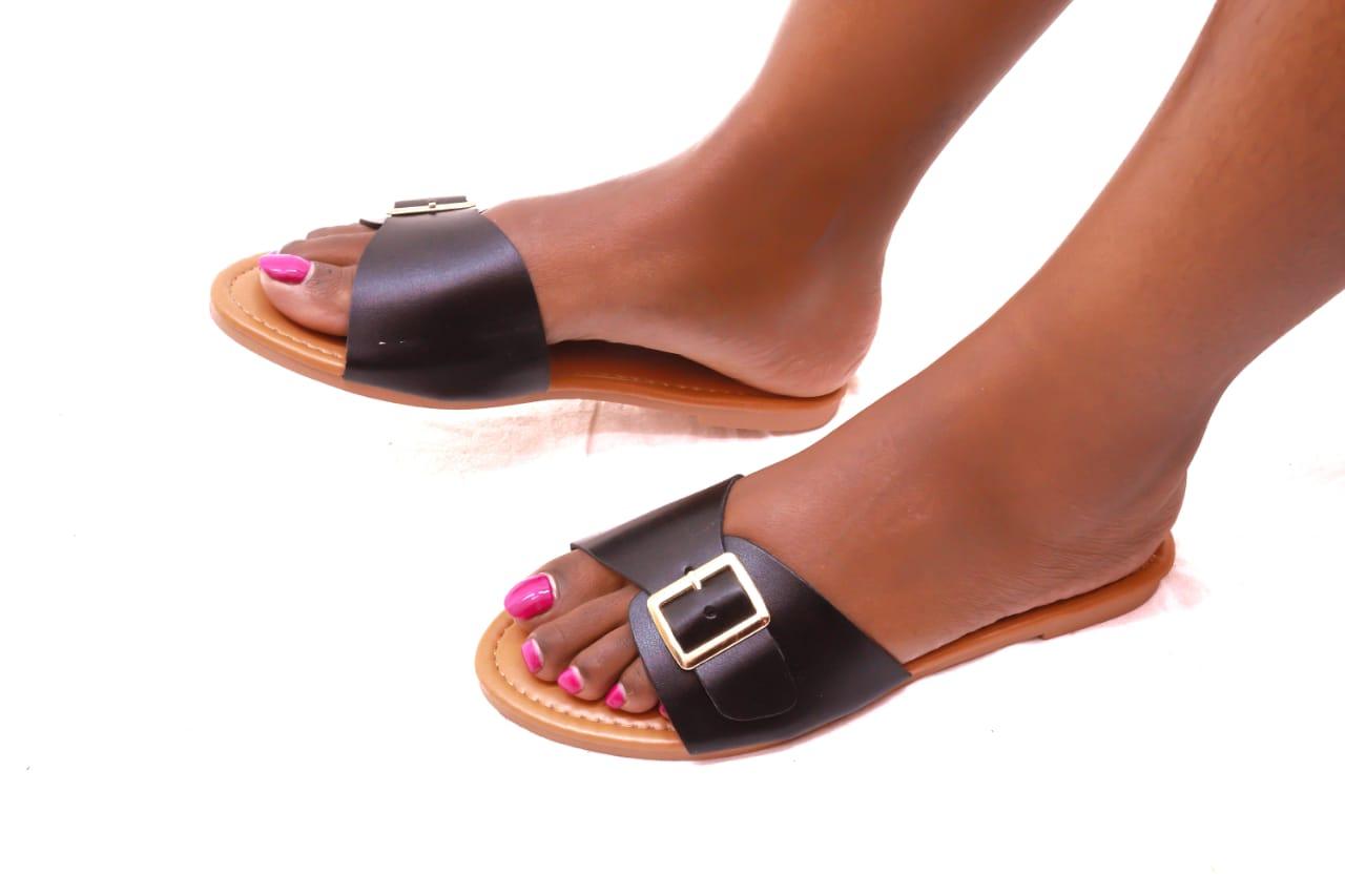 Buckle Open Sandals