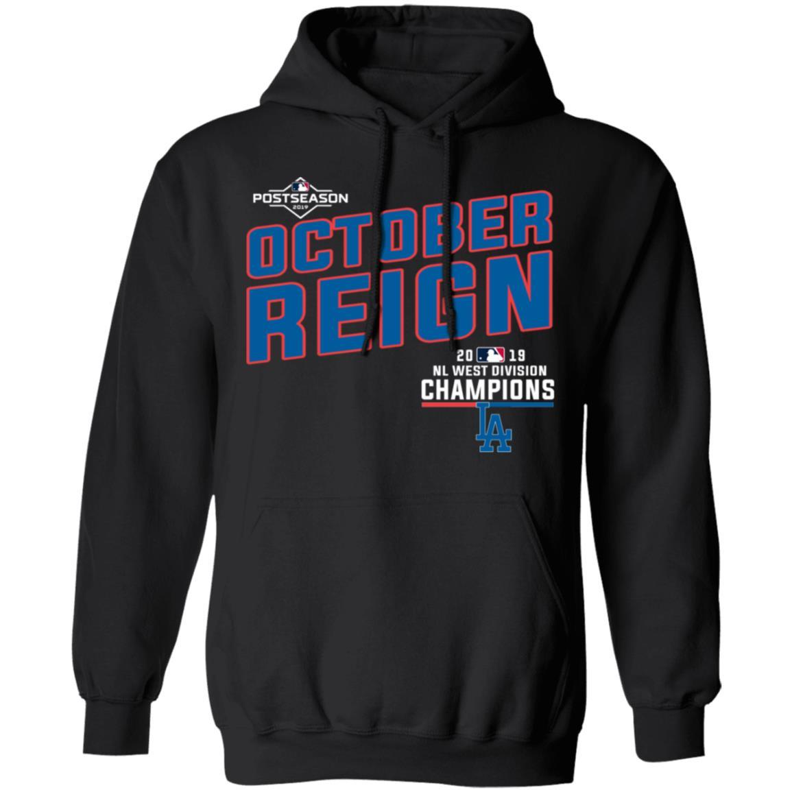 Los Angeles Dodgers 2019 NL West Division Champions Shirt Hoodie