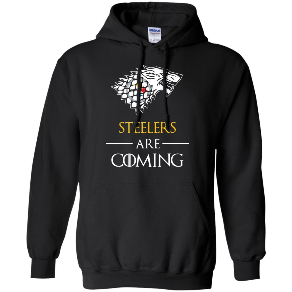 Pittsburgh Steelers stark house are coming funny Game of Thrones shirt Hoodie