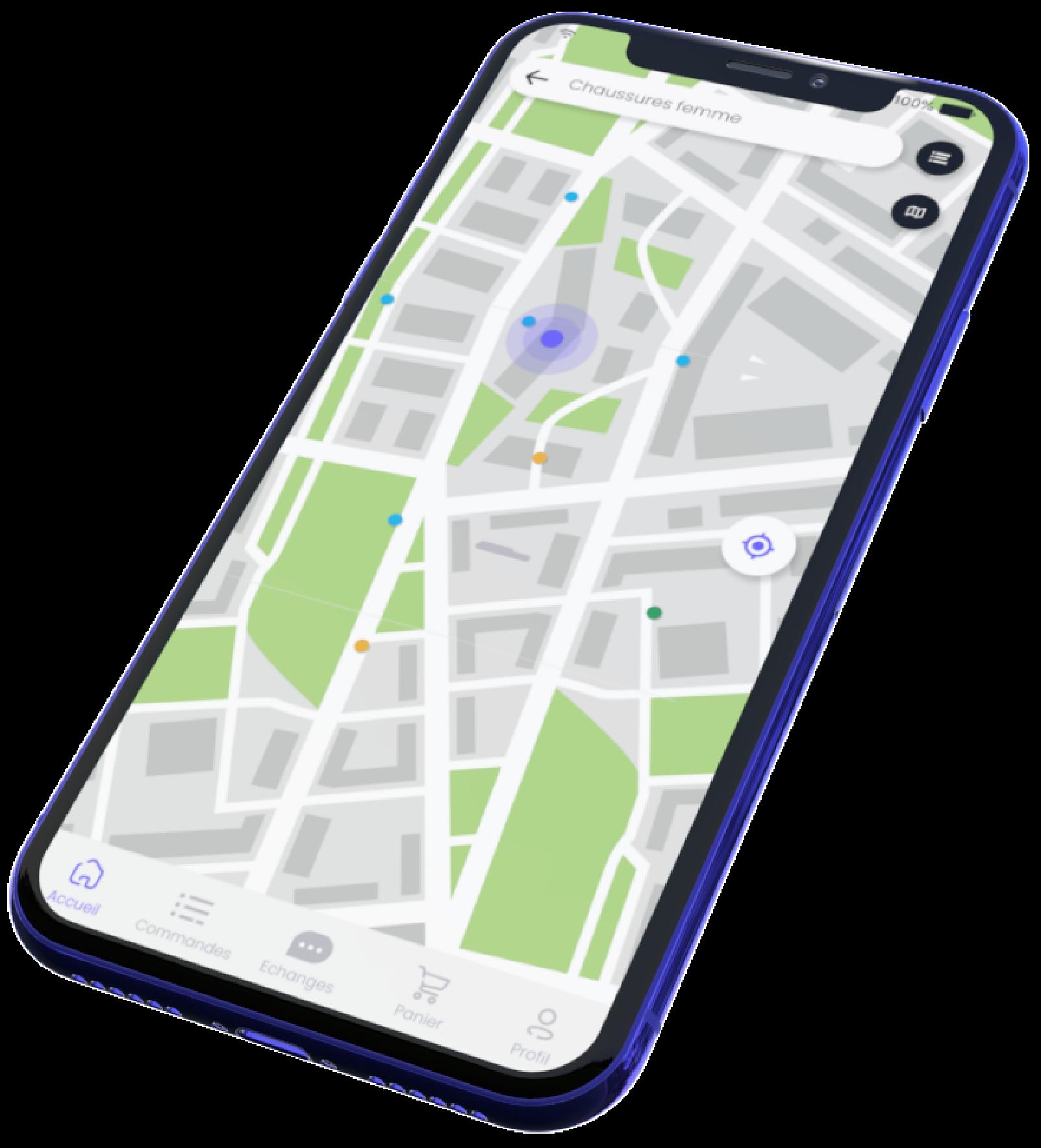 Shopinzon app in phone