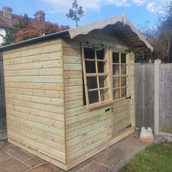 Country Cabin shed