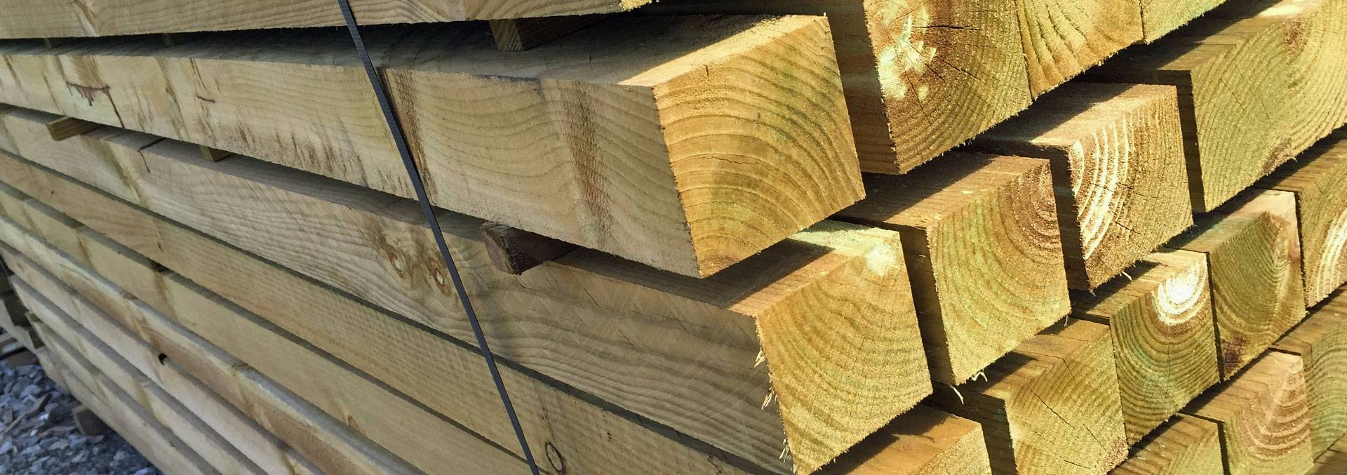 Timber Posts - Pressure Treated - Brown or Green.jpg