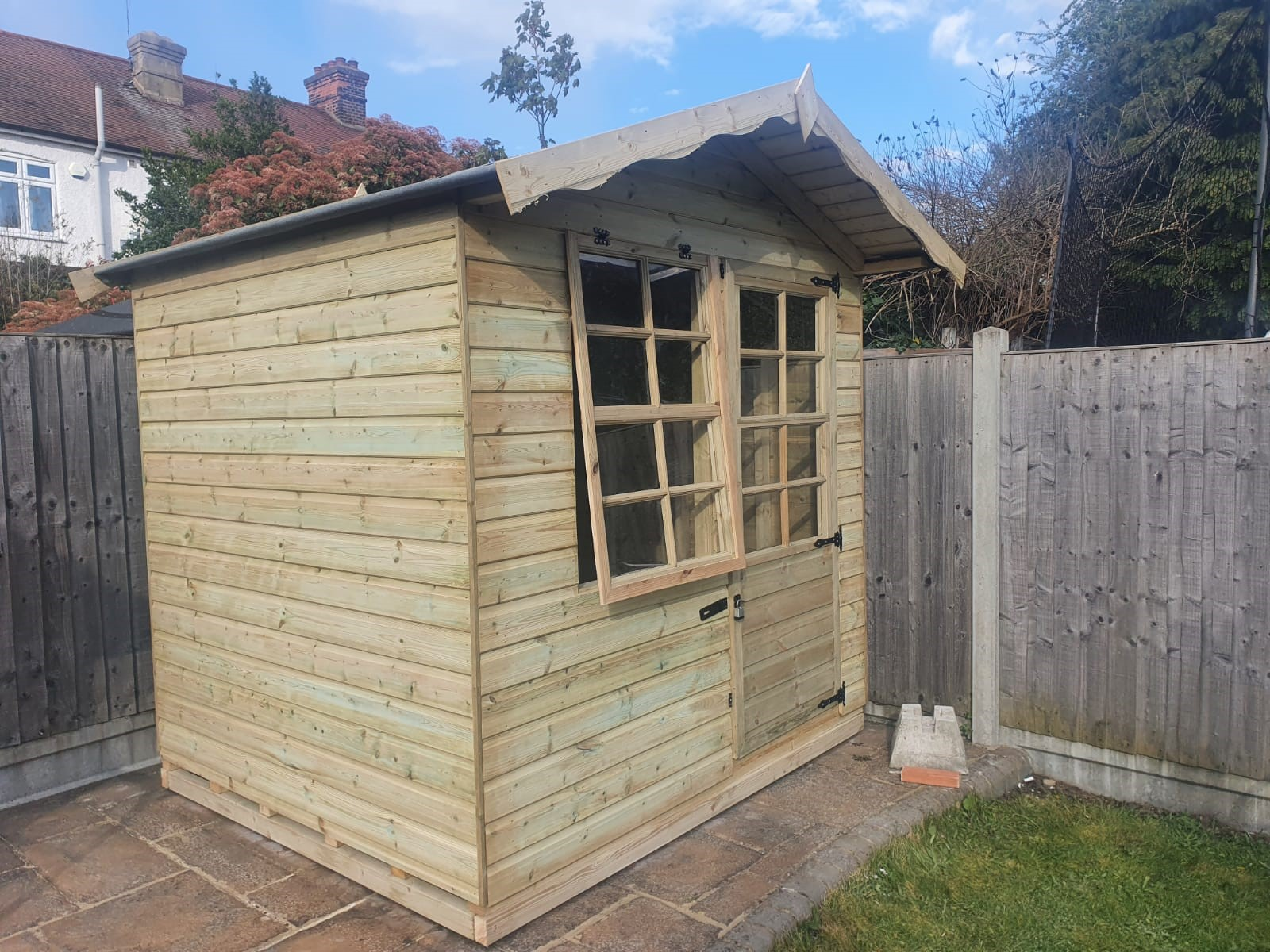 Country Cabin 16mm Cladding