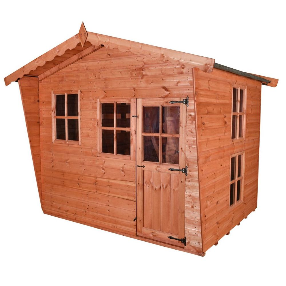 Forest Lodge - Wooden Playhouse