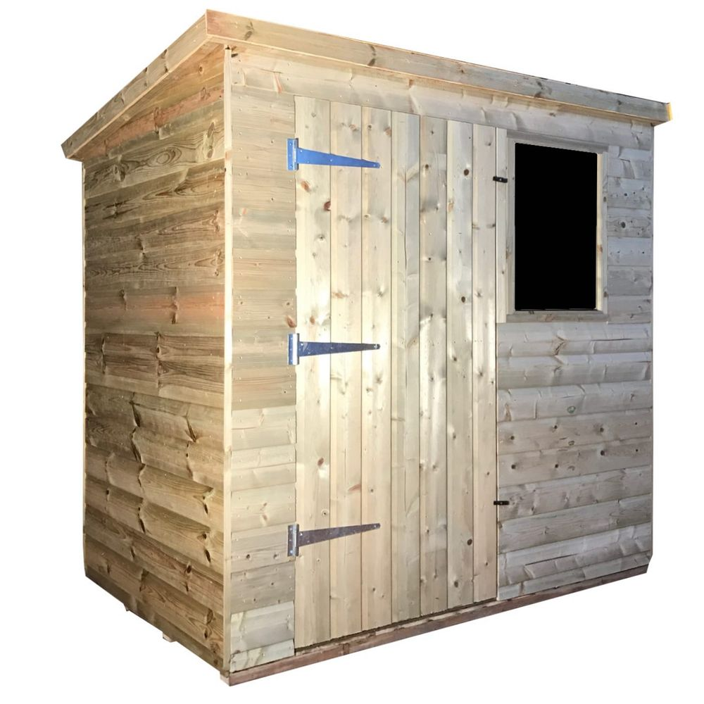 Tanalised Garden Shed - TITAN 1 Pent A