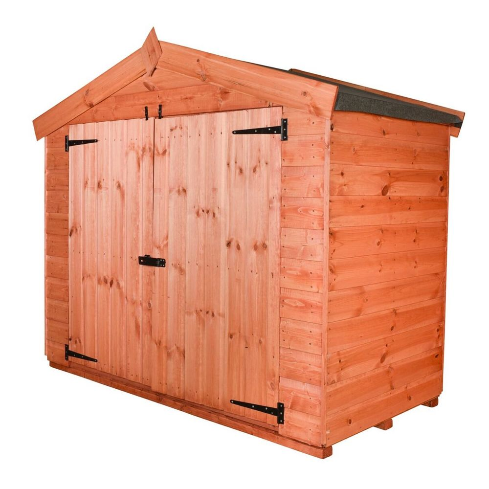 Apex Wooden Bike Shed