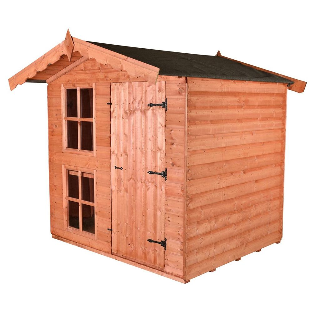 Forest Den - 2 Story Wooden Playhouse