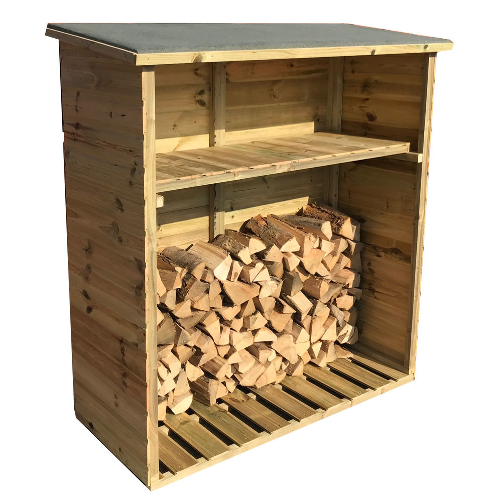 4 x 2 Pressure Treated Tongue & Groove Log Store One Size