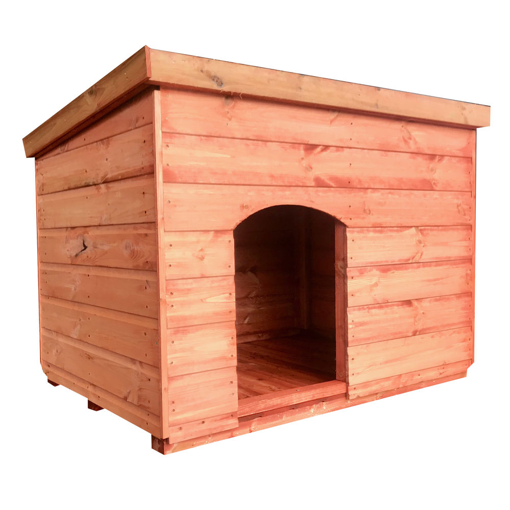 4ft x 32in Wooden Pet Kennel Pent One Size