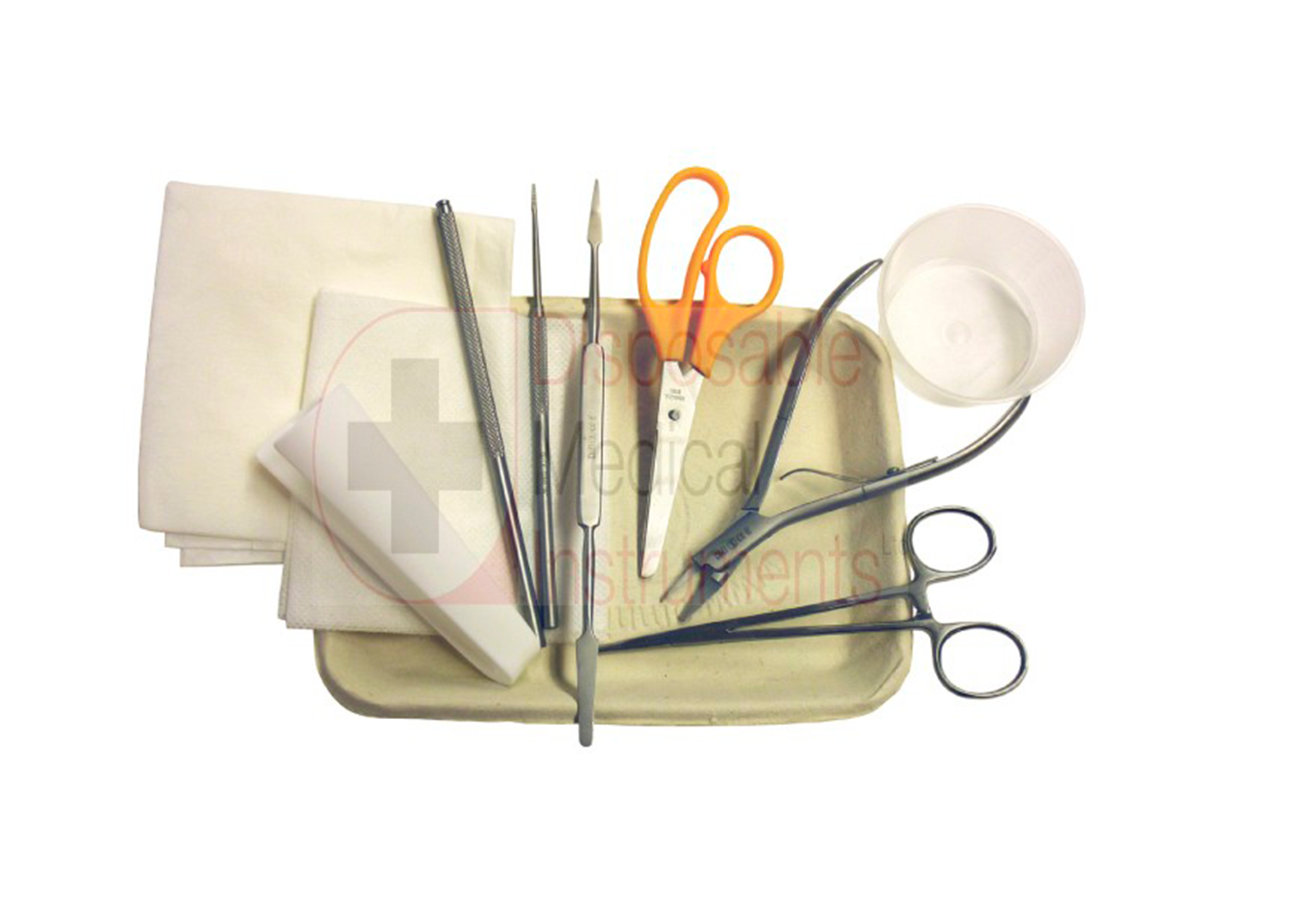 Disposable nail surgery pack