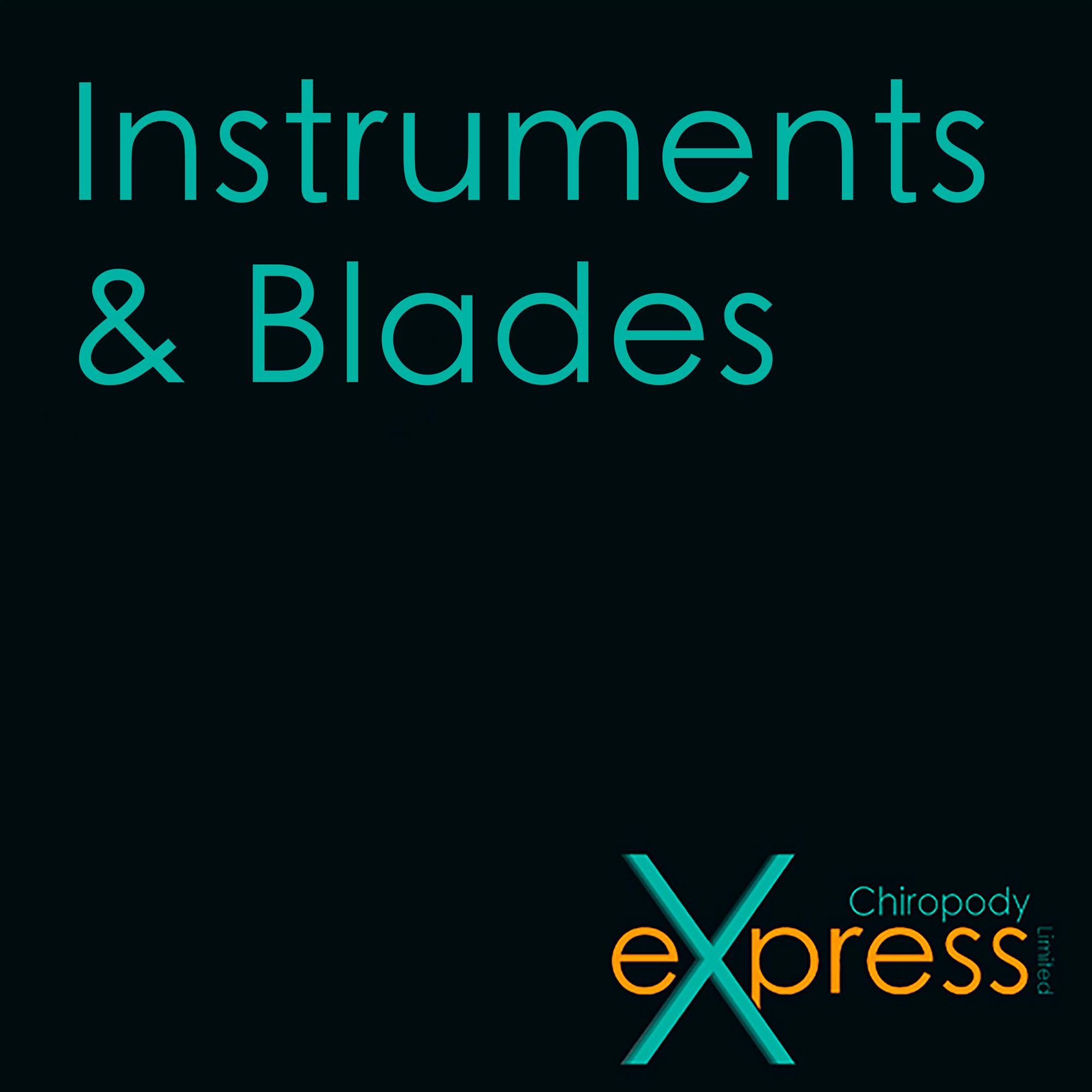 Instruments, Blades