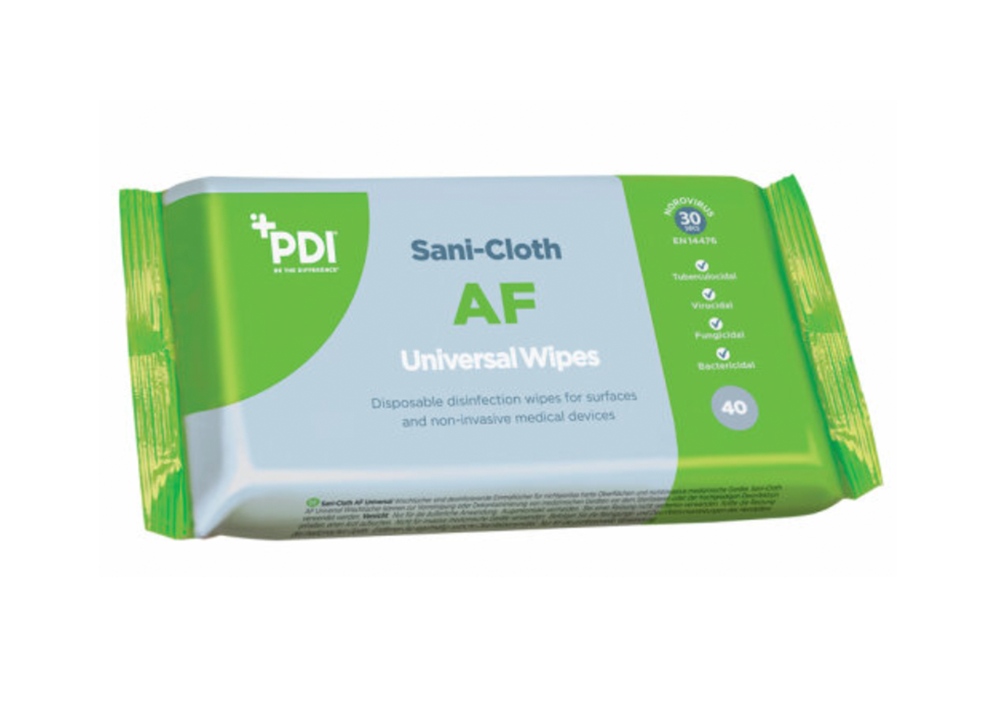 PDI Sani Cloth Universal Wipes Pack of 40 - Similar to Clinell - PPE