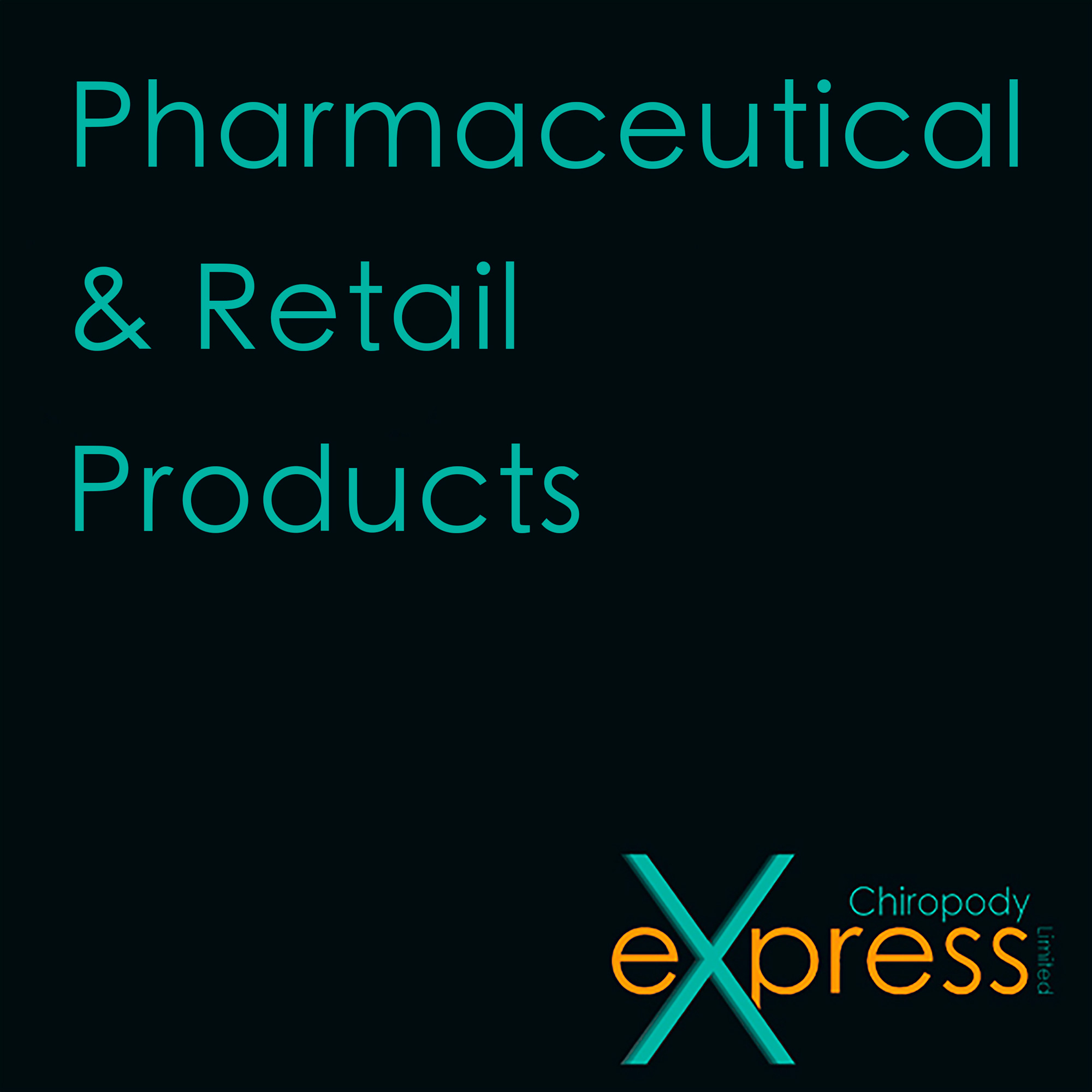 Pharmaceutical, Retail products