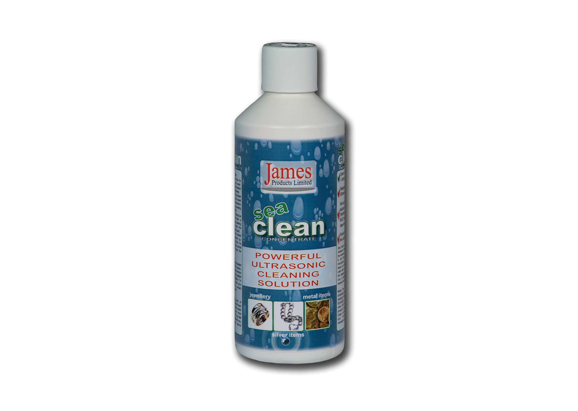 Ultrasonic Cleaning Solutions - Sea Clean - 500ml