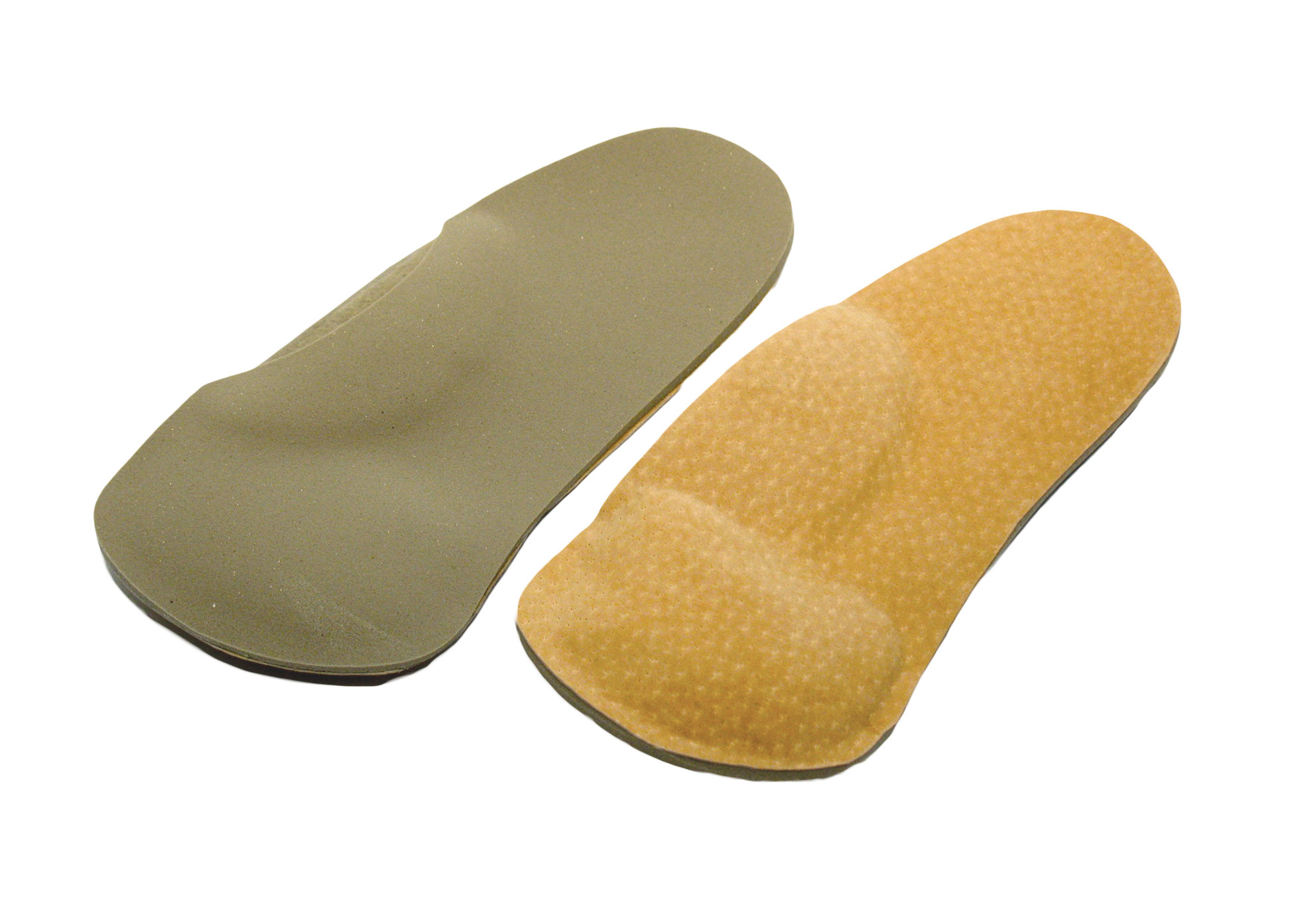 Haplabase Orthotic - Foot Supports - Model 405 - Per Pair - Met and Valgus Pads - Mens 9 - 11