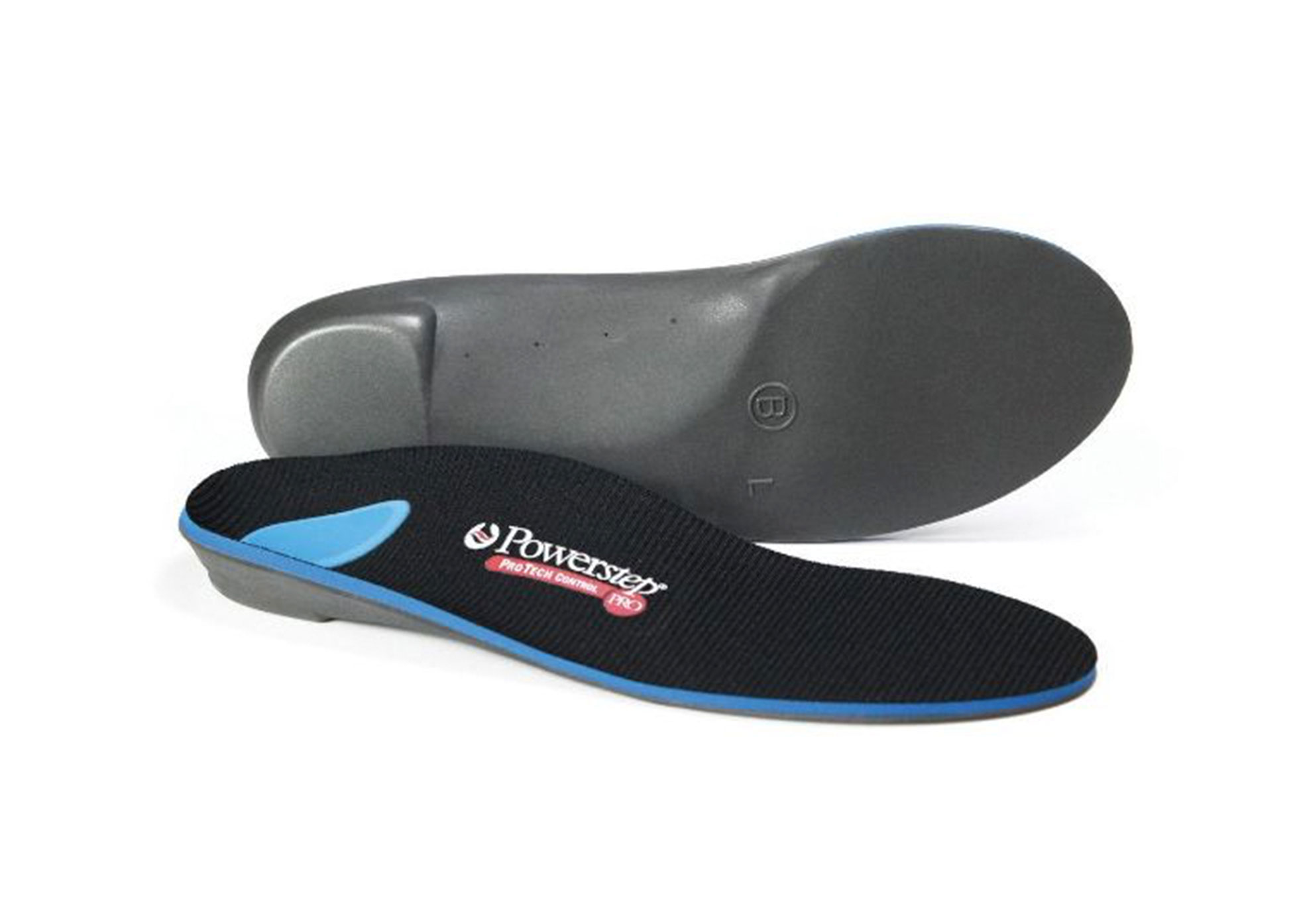 Carnation Footcare - Powerstep Pro - Code E - Mens - 7 - 7.5 / Womens - 8.5 - 9 - Per Pair Insoles