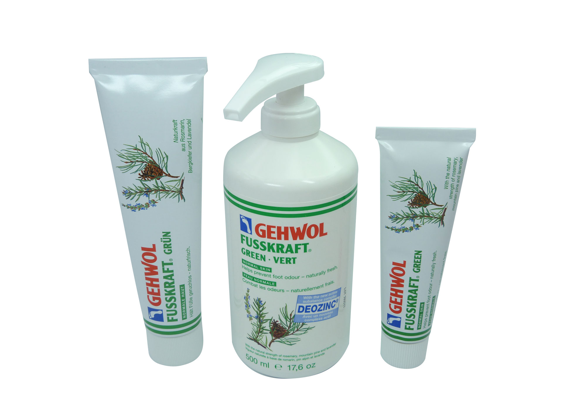 Gehwol - Fusskraft Green - 125ml Tube