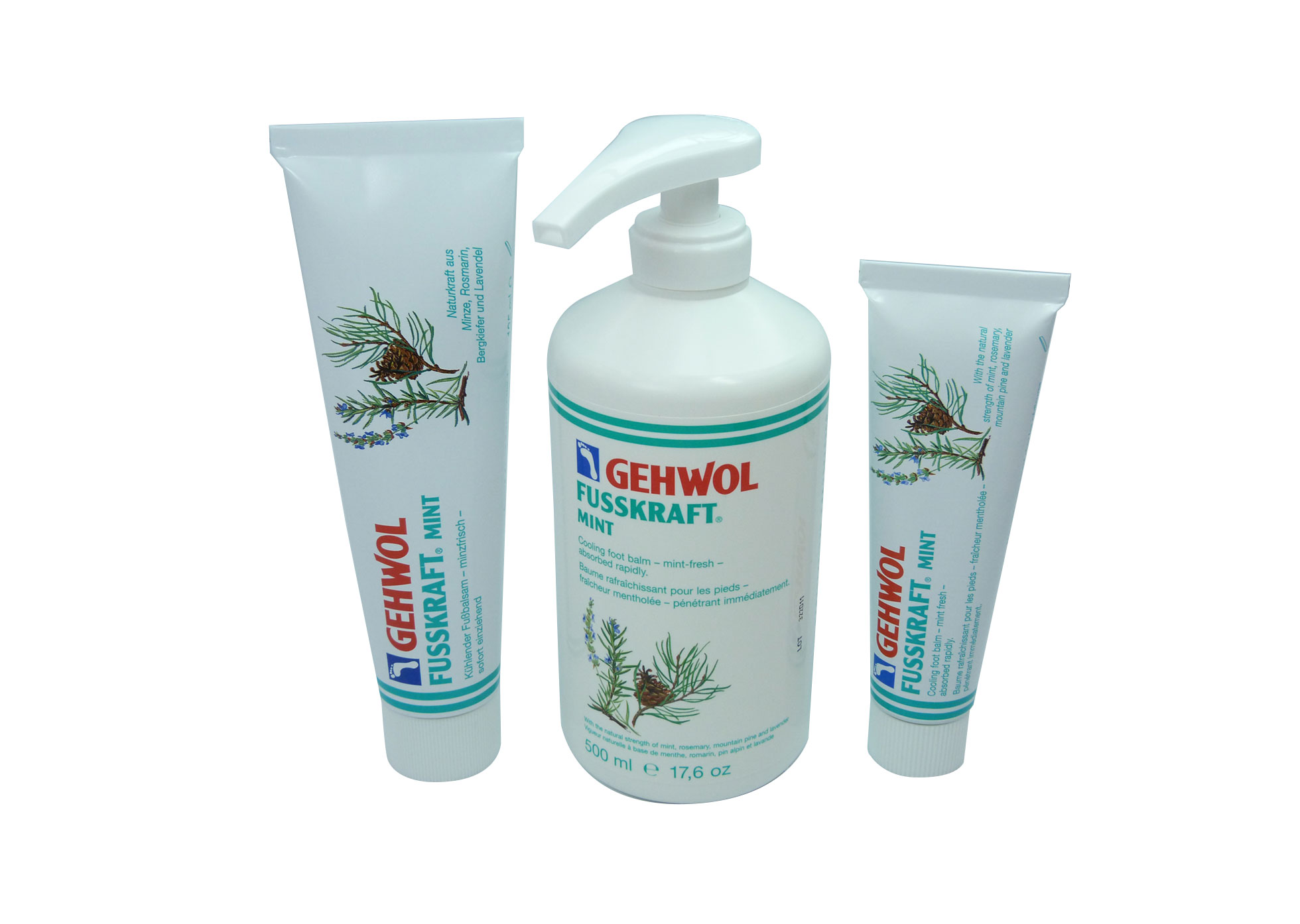 Gehwol - Fusskraft Mint - 125ml Tube