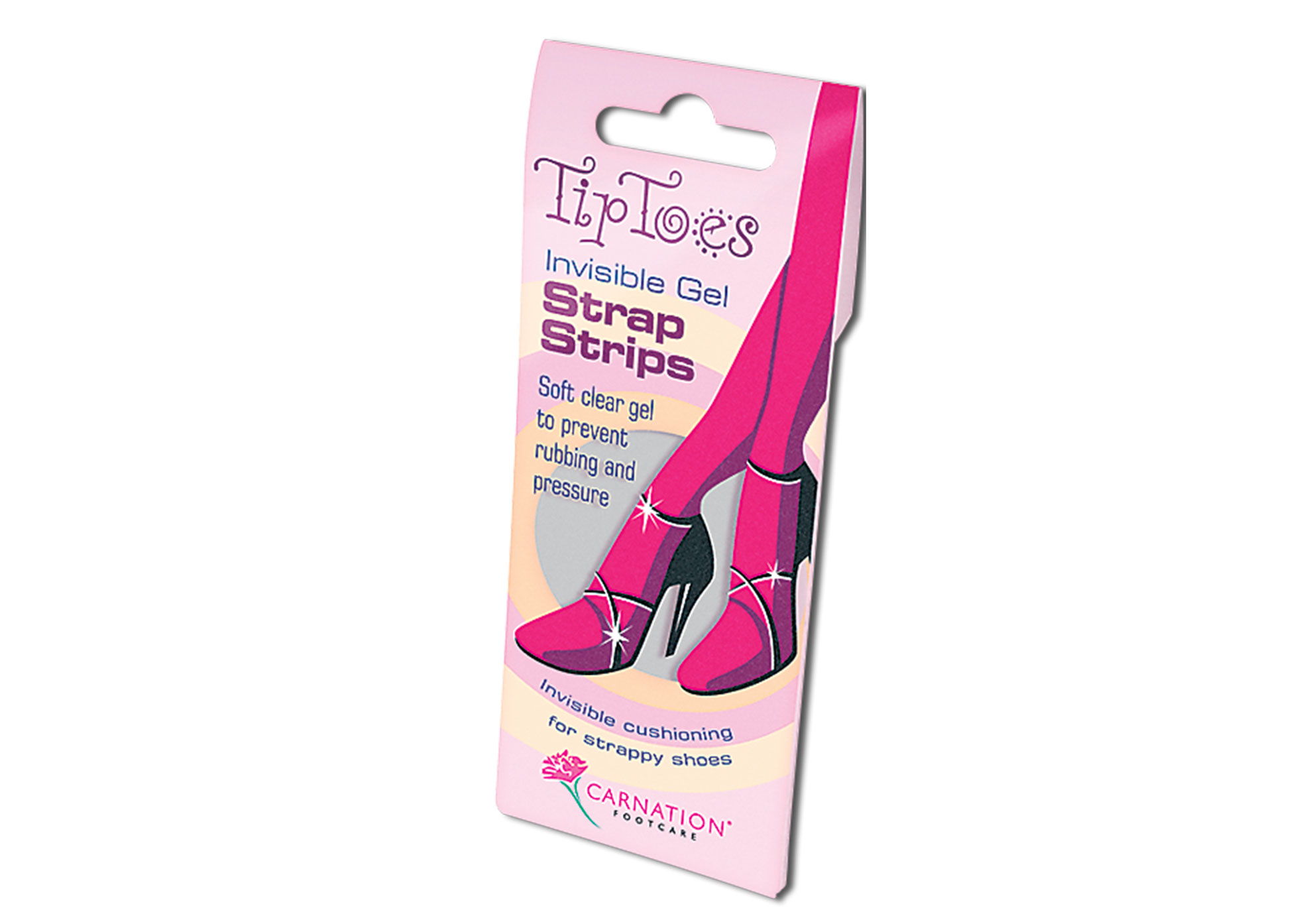 Tip Toes Gel Strap Strips
