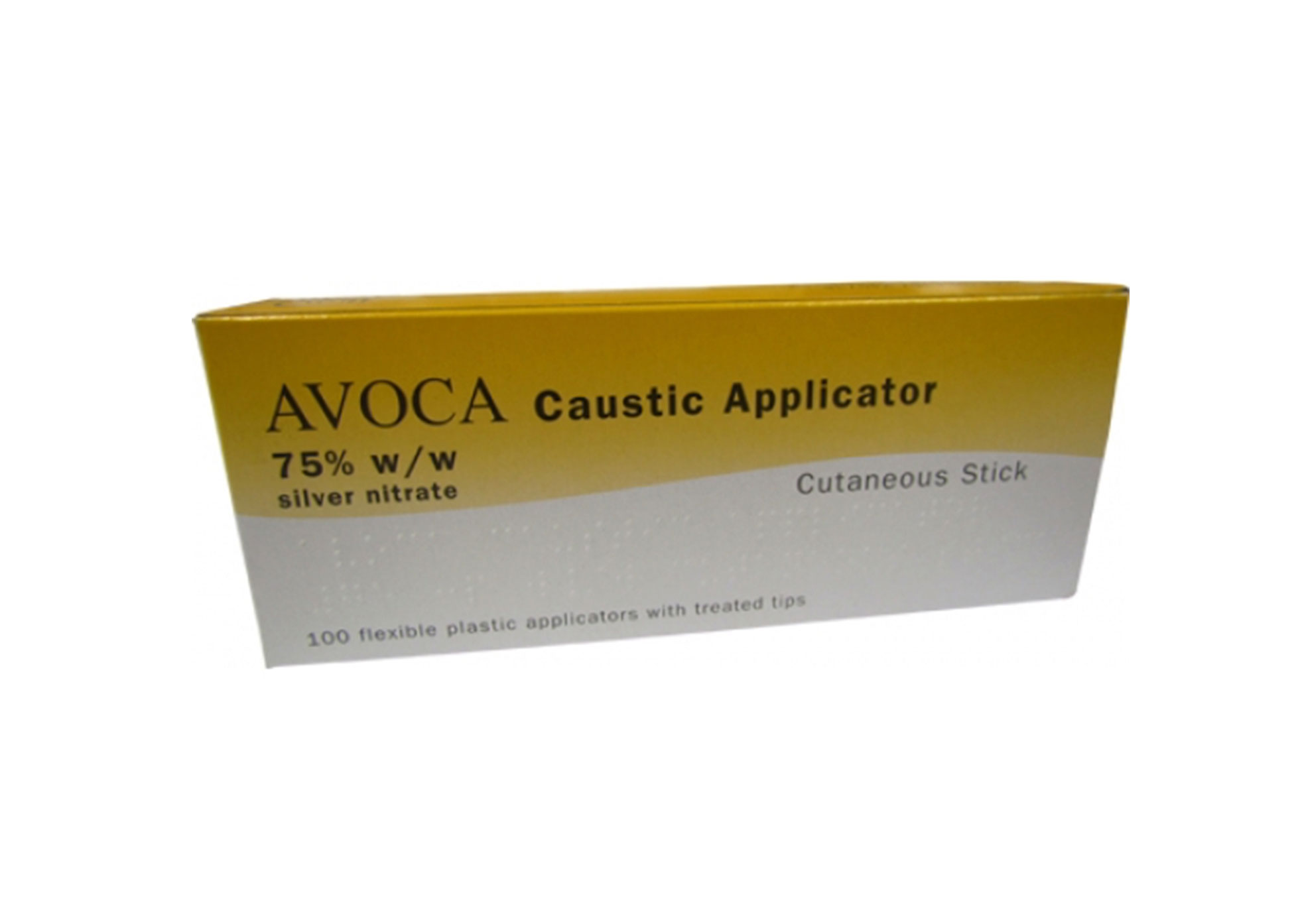 P' Caustic Applicators - 75% Applicator - Pack of 100
