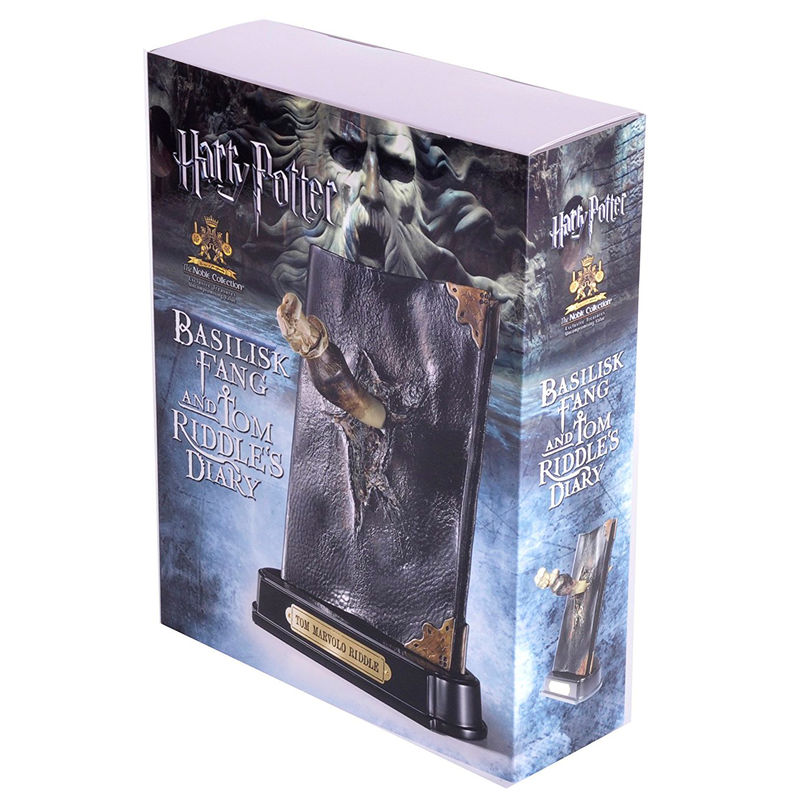 Noble Collection Harry Potter Dente Di Basilisco E Diario di Tom Riddle replica