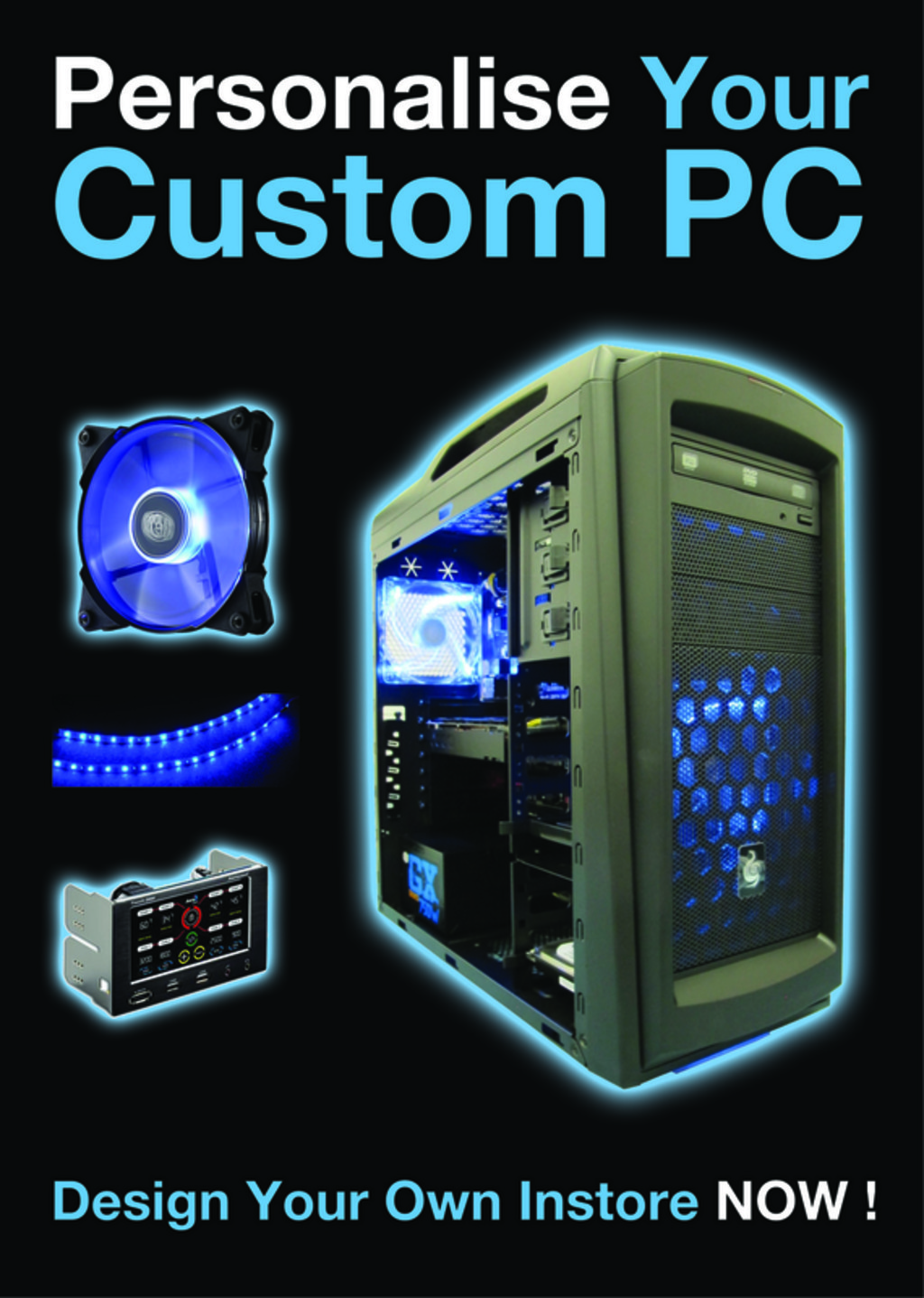 customer pc builder now in store