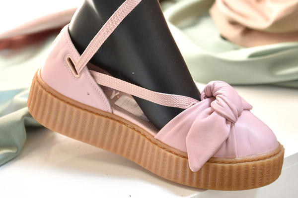 PUMA Releases Rihanna Fenty Bow Creeper Sandal And Spring Collection