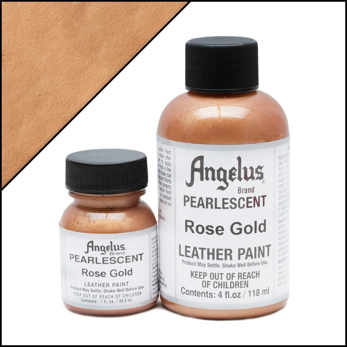 Angelus Pearlescent Rose Gold Paint