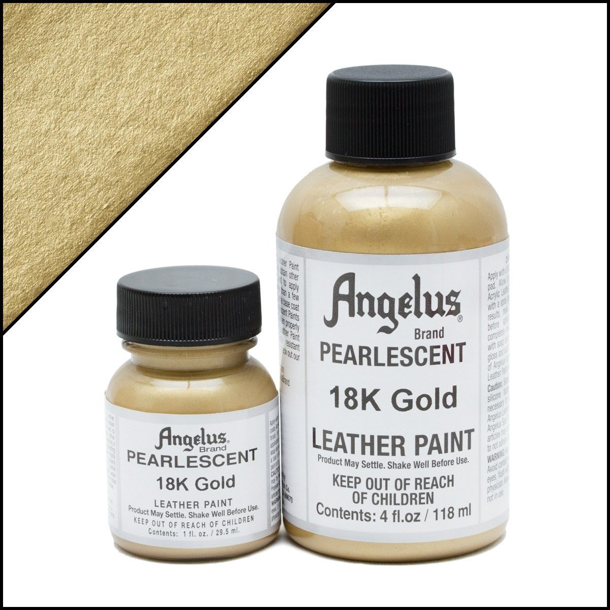 Angelus Pearlescent 18K Gold Paint