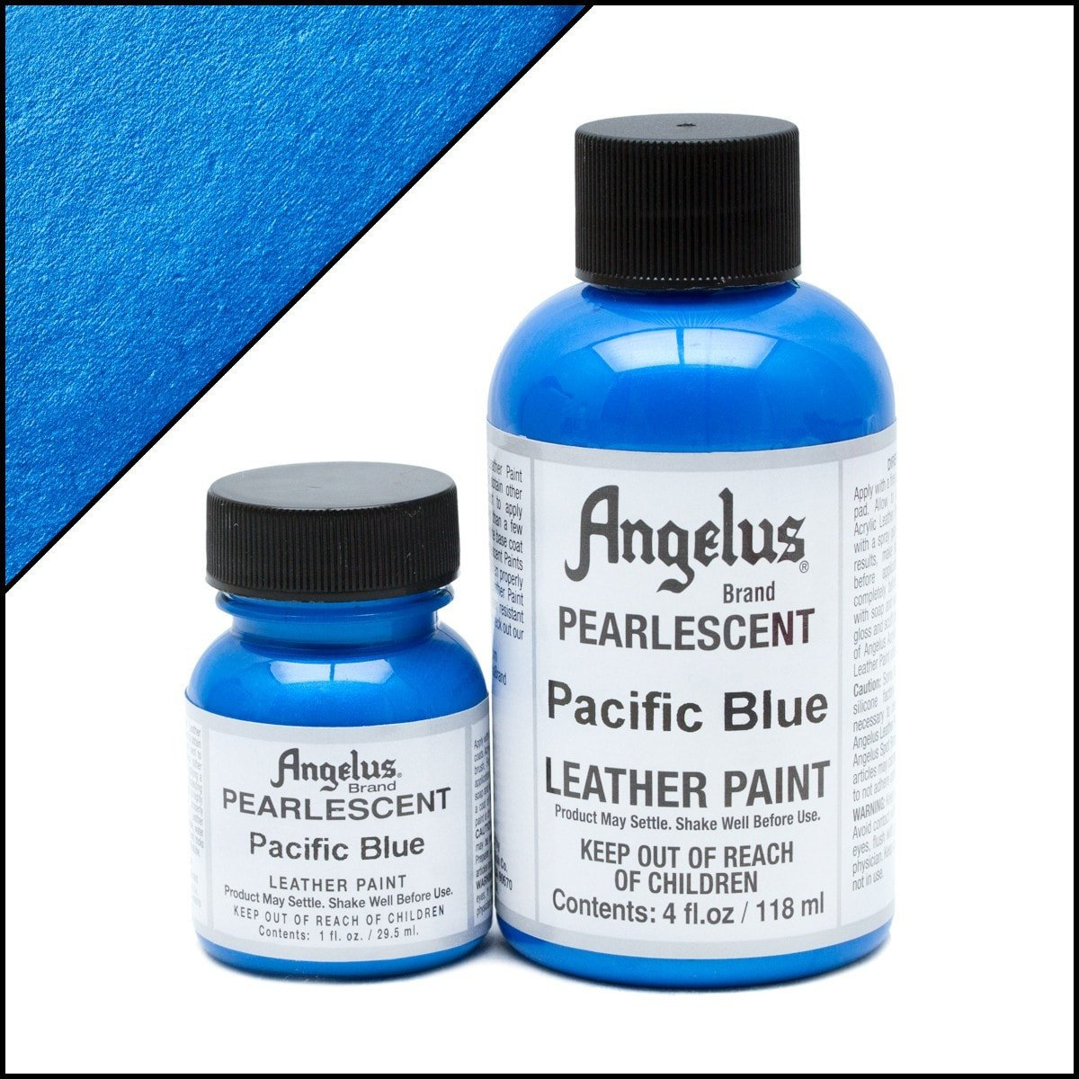 Angelus Pearlescent Pacific Blue Paint