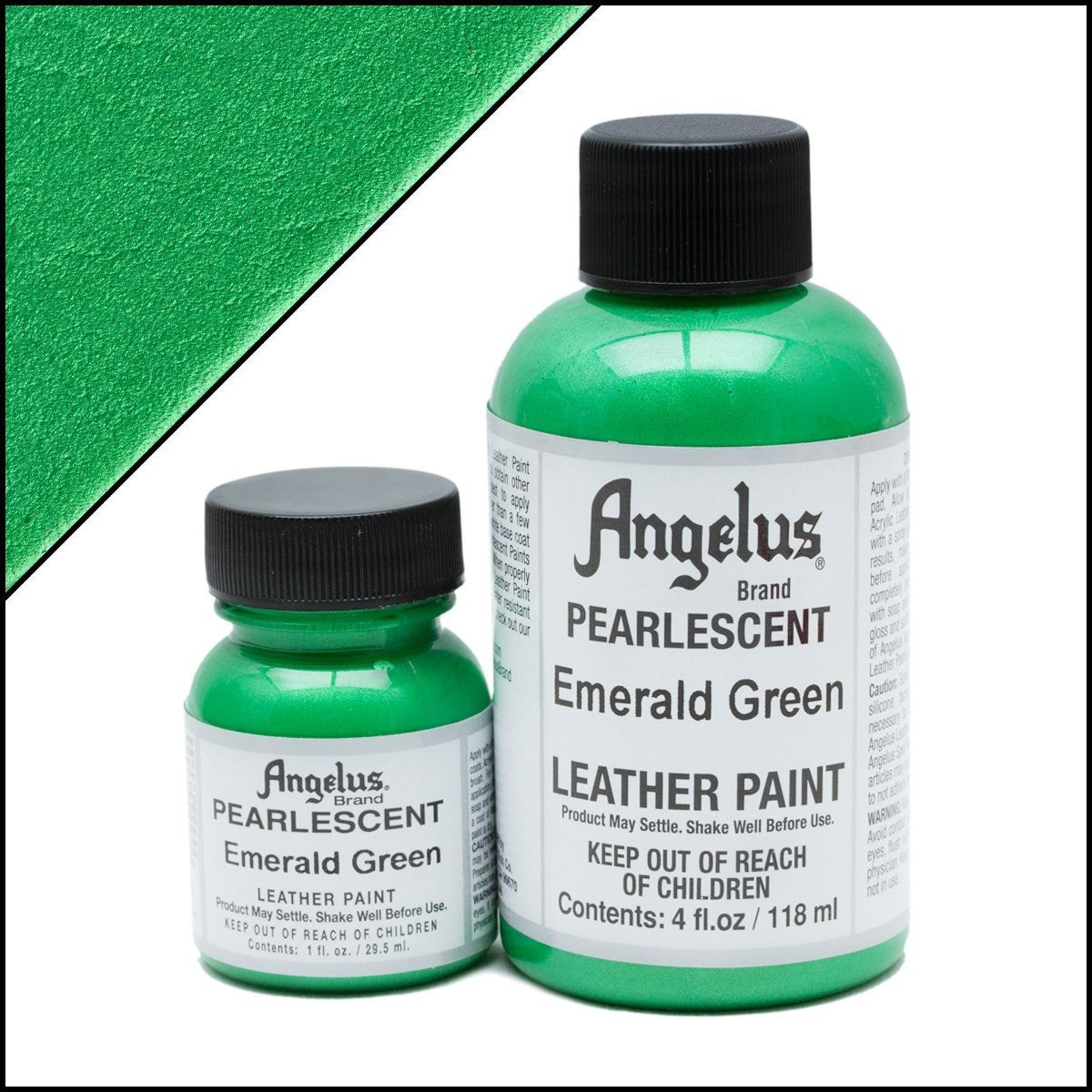 Angelus Pearlescent Emerald Green Paint
