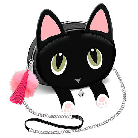 Oh My Pop Borsa Tracolla LILI Gatto Nero